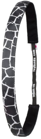 Fascia per capelli, bianco e nero - Ivybands Hair Band
