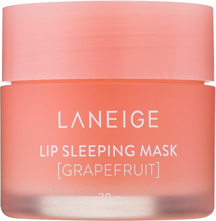 Maschera da notte con estratto di pompelmo - Laneige Lip Sleeping Mask Grapefruit