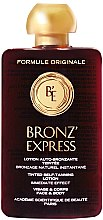 Profumi e cosmetici Lozione abbronzante per viso e corpo - Academie Bronz'Express Lotion