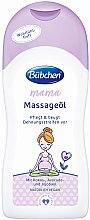 Profumi e cosmetici Olio da massaggio - Bubchen Mama Massage Oil