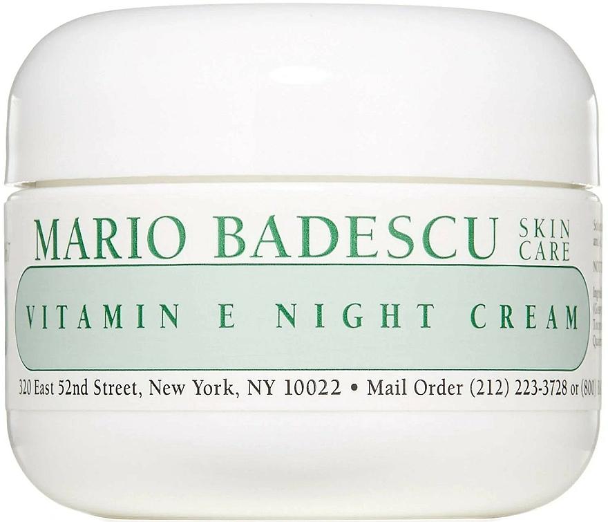 Crema viso da notte alla vitamina E - Mario Badescu Vitamin E Night Cream — foto N1