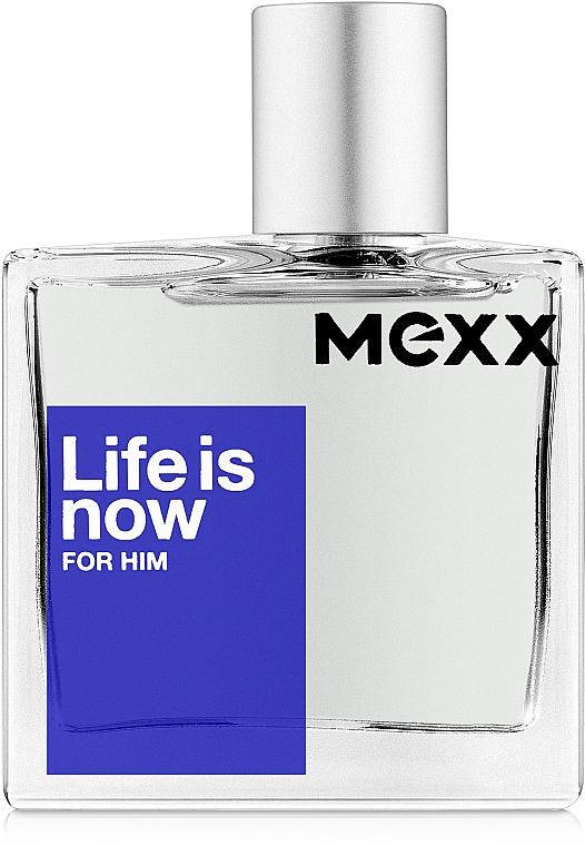 Mexx Life is Now for Him - Eau de toilette