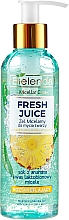 Profumi e cosmetici Gel micellare idratante - Bielenda Fresh Juice Micellar Gel Pineapple