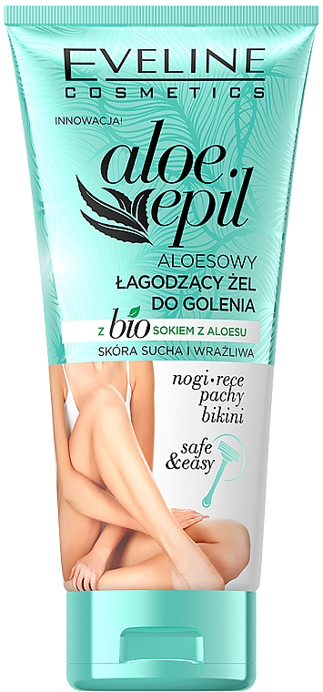 Gel da barba calmante - Eveline Cosmetics Aloe Epil