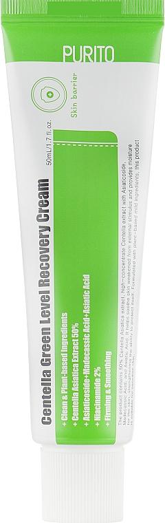 Crema rigenerante lenitiva alla centella - Purito Centella Green Level Recovery Cream