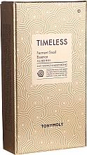 Profumi e cosmetici Set - Tony Moly Timeless Ferment Snail Essence Gift Set (essence/50ml + toner/20ml + emul/20ml)