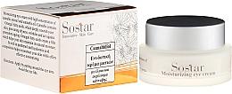 Profumi e cosmetici Crema idratante con estratto di canapa per contorno occhi - Sostar Cannabisoil Moisturizing Eye Cream of Cannabis Extract