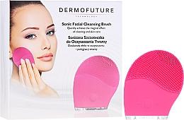 Profumi e cosmetici Spazzola per la pulizia del viso, rosa - Dermofuture