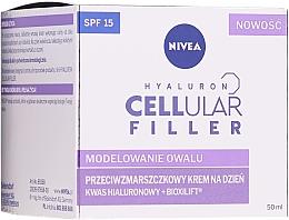 Profumi e cosmetici Crema viso, da giorno - Nivea Hyaluron Cellular Filler Day Cream SPF15