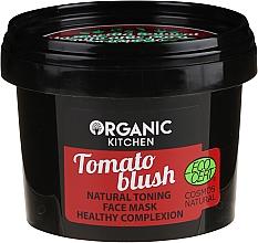 """Profumi e cosmetici Maschera viso tonificante naturale """"Blush al pomodoro"""" - Organic Shop Organic Kitchen Fase Mask"""