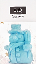 """Profumi e cosmetici Sapone artigianale """"Pupazzo di neve"""" con aroma di frutta - LaQ Happy Soaps Natural Soap"""