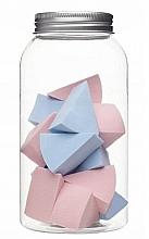 Profumi e cosmetici Spugnette trucco in barattolo, 415216, 14 pezzi - Inter-Vion