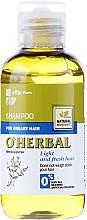 Profumi e cosmetici Shampoo per capelli grassi all'estratto di menta - O'Herbal