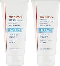 Profumi e cosmetici Set - Ducray Anaphase+ (sch/2x200ml)