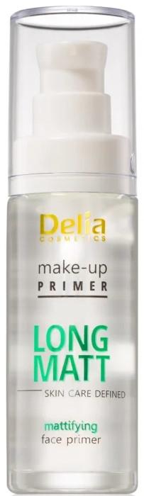 Base trucco opacizzante - Delia Cosmetics Long Matt Make Up Primer