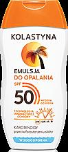 Profumi e cosmetici Lozione solare waterproof SPF 50 - Kolastyna