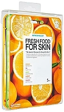 Profumi e cosmetici Set - Superfood For Skin Facial Sheet Mask Refreshing Set (f/mask/5x25ml)