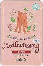 Profumi e cosmetici Maschera viso in tessuto - Skin79 Fresh Garden Red Ginseng Mask