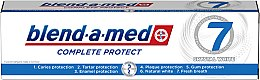 Profumi e cosmetici Dentifricio sbiancante - Blend-a-med Complete Protect 7 Crystal White Toothpaste