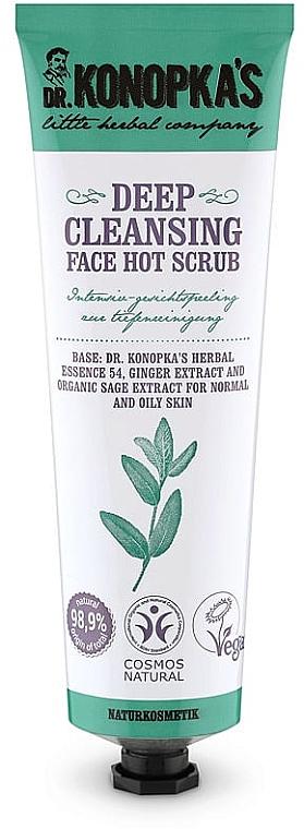 Scrub per la pulizia profonda del viso - Dr. Konopka's Face Hot Deep Cleansing Scrub