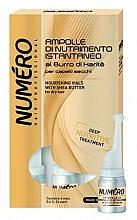 Profumi e cosmetici Lozione nutriente per capelli con burro di karité - Brelil Numero Nourishing Vials For Hair With Shea Butter