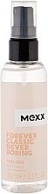 Profumi e cosmetici Mexx Forever Classic Never Boring for Her - Spray corpo profumato