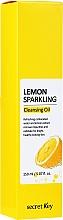 Profumi e cosmetici Olio idrofilo al limone - Secret Key Lemon Sparkling Cleansing Oil