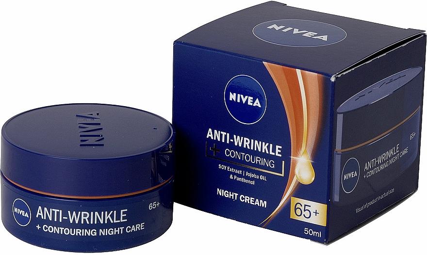 Nivea Anti-Wrinkle Contouring Night Care 65+ - Crema da..
