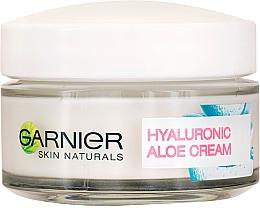 Profumi e cosmetici Crema viso nutriente - Garnier Skin Naturals Hyaluronic Aloe Day Cream