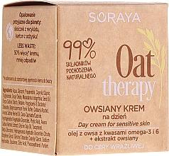 Profumi e cosmetici Crema da giorno alla farina d'avena per pelli sensibili - Soraya Oat Therapy Day Cream