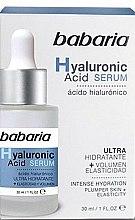 Profumi e cosmetici Siero viso - Babaria Hyaluronic Acid Serum