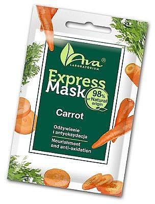 Maschera viso con estratto di carota - Ava Laboratorium Beauty Express Mask Carrot