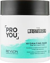 Profumi e cosmetici Maschera per capelli, idratante - Revlon Professional Pro You Hydrating Mask