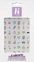 Profumi e cosmetici Adesivi per unghie - Hi Hybrid Unicorn Nail Stickers