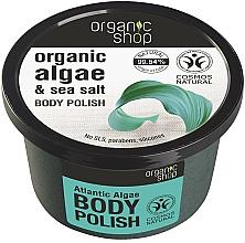 """Profumi e cosmetici Scrub corpo """"Alghe atlantiche"""" - Organic Shop Body Scrub Organic Algae & Sea Salt"""