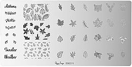 Profumi e cosmetici Piastra di stampaggio - Peggy Sage Stamping Plate (1pz)