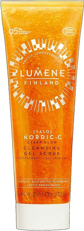 Gel-scrub detergente viso - Lumene Valo Nordic-C Clear Glow Cleansing Gel Scrub
