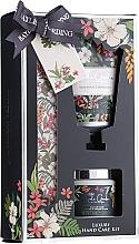 "Profumi e cosmetici Set ""Cura delle mani"" - Baylis & Harding Royal Garden Collection Set (h/cr/50ml + salt/70g + nail/file/1)"