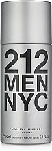 Profumi e cosmetici Carolina Herrera 212 MEN NYC - Deodorante