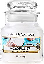 Profumi e cosmetici Candela profumata con contenitore in vetro - Yankee Candle Coconut Splash