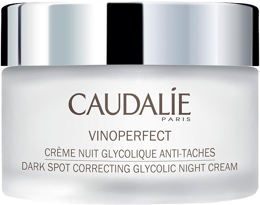 Crema da notte all'acido glicolico - Caudalie Vinoperfect Dark Spot Correcting Glycolic Night Cream