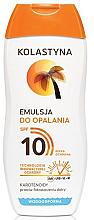 Profumi e cosmetici Lozione abbronzante impermeabile SPF 10 - Kolastyna