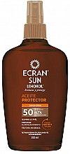 Profumi e cosmetici Olio solare - Ecran Sun Lemonoil Oil Spray SPF50