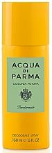 Profumi e cosmetici Acqua Di Parma Colonia Futura - Deodorante spray