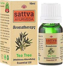 "Profumi e cosmetici Olio essenziale ""Tea Tree"" - Sattva Ayurveda Tea Tree Essential Oil"