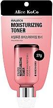 Profumi e cosmetici Toner viso idratante all'acido ialuronico - Alice Koco Hyaluron Moisturising Toner