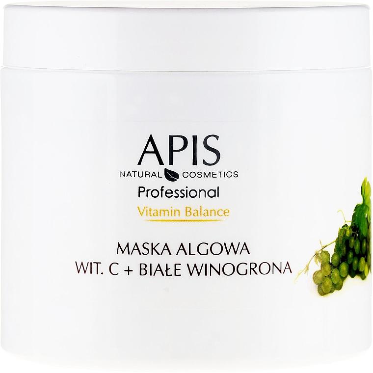 Maschera viso all'alginato - APIS Professional Vitamin-Balance Algae Mask