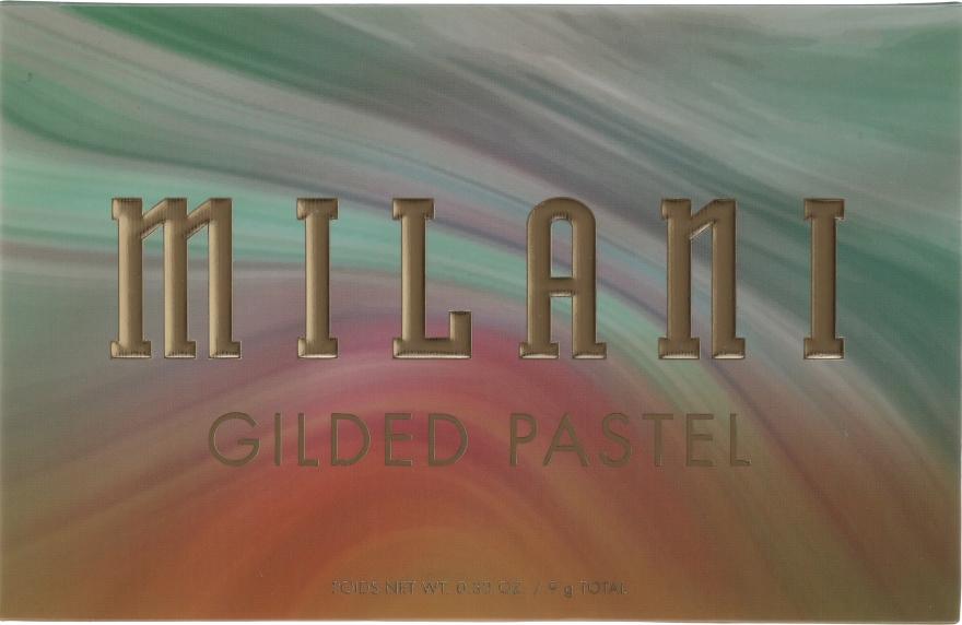 Palette ombretti - Milani Gilded Eyeshadow Palette — foto N2