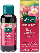 Profumi e cosmetici Olio da bagno - Kneipp Back Comfort Herbal Devil's Claw Bath Oil
