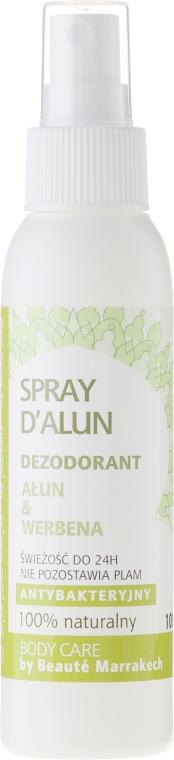 Deodorante spray corpo - Beaute Marrakech Alum & Verbena